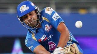 Rohit Sharma, Corey Anderson bring Mumbai Indians closer to 169-run target against Kings XI Punjab in IPL 2014