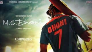 MS Dhoni biopic: First look of film's poster