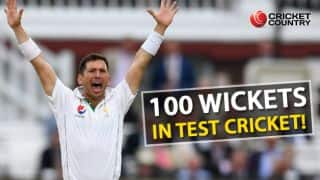 Pakistan vs West Indies, day-night Test: Yasir Shah second-fastest to 100 wickets