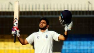Dhruv Shorey: Getting a hundred in Ranji Trophy final big thing