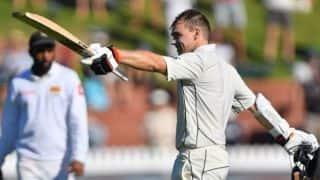 1st Test: Tom Latham ton puts New Zealand in charge of Sri Lanka