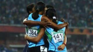 Indian women's relay team break 18-year-old National record