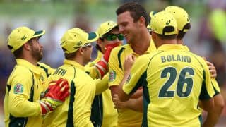 India vs Australia 2015-16: Josh Hazlewood rested for the remaining ODIs and T20 series