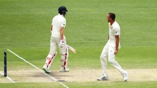 The Ashes 2017-18, 1st Test, Day 4: England lose 5 wickets; lead by 93 runs before lunch