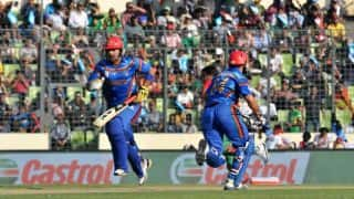 Zimbabwe vs Afghanistan 2014, 1st ODI at Bulawayo: Afghanistan struggle to score runs