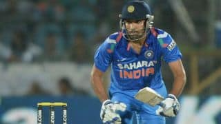 India vs New Zealand 2014, 2nd ODI: Shikhar Dhawan, Rohit Sharma off to cautious start 10/0 in 5 overs