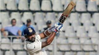 Murali Vijay hammers 8th ton during third day's play between India and England in 4th Test
