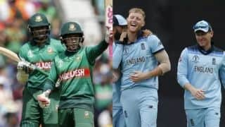 Cricket World Cup 2019: England, Bangladesh seek return to winning ways in Cardiff
