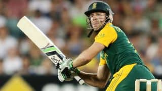 Australia vs South Africa 4th ODI: AB de Villiers out for 91