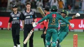 2nd T20I: Pakistan down New Zealand by six wickets to register 11th consecutive series win