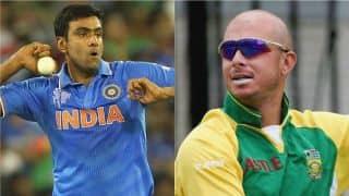 Ravichandran Ashwin and Herschelle Gibbs involved in a Twitter banter