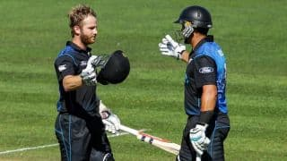 Ross Taylor, Kane Williamson continue prolific ODI partnership with fourth successive century stand
