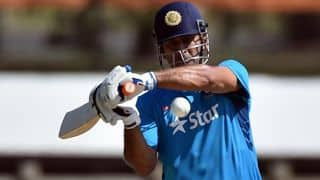 MS Dhoni could consider batting higher up the order against Bangladesh