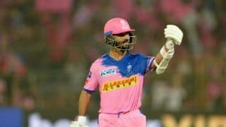 Rahane reappointed Rajasthan Royals captain after Smith's departure