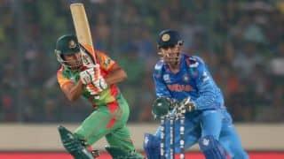 India vs Bangladesh 1st ODI: Anamul Haque steadies Bangladesh; score 23/1 in 8 overs