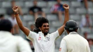 Ishant Sharma picks up 150th Test wicket