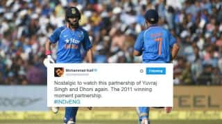 Yuvraj Singh-MS Dhoni partnership makes fans go berserk on social media