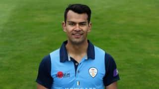 Shiv Thakor of Derbyshire arrested following allegations of indecent exposure