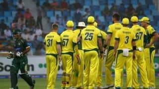 Pakistan vs Australia, 2nd ODI at Dubai