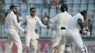 India 6 wickets away from win against Sri Lanka before lunch, Day 5, 3rd Test