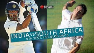 IND 190/4 at stumps, Live Cricket Score, India vs South Africa 2015, 4th Test at New Delhi, Day 3: India's lead crosses 400