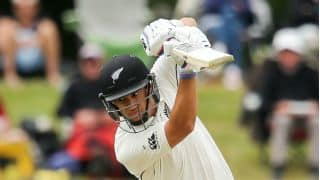 Taylor's wicket leaves match in balance against BAN in 2nd Test at Christchurch