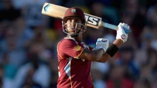 West Indies score 165/6 against New Zealand in 2nd T20I  at Roseau