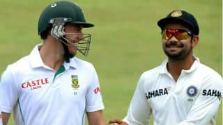 Kohli plays down rivalry with de Villiers ahead of 1st Test