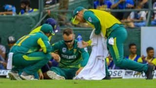 Sri Lanka vs South Africa: Captain Faf du Plessis ruled out of the remainder of the series