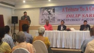 VVS Laxman at Dilip Sardesai Memorial Lecture: We all play the game for sheer love