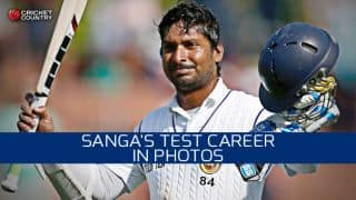 Kumar Sangakkara: Test career in photos
