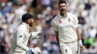 No. 1 spot up for grabs for James Anderson in history Test against Ireland at Lord's