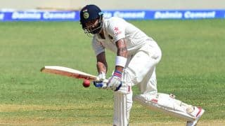 India vs South Africa, 2nd Test: Murali Vijay, Virat Kohli survives as Visitors reach 80/2 at Tea on Day 2