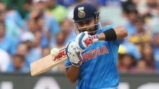 Virat Kohli practices against spinners at nets in Melbourne