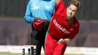 पेसर जार्विस बोले- जिम्बाब्वे की टीम बांग्लादेश में वनडे सीरीज जीतने आई है