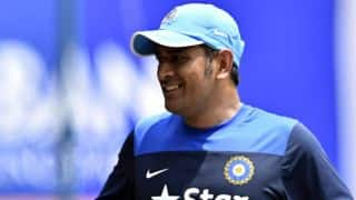 MS Dhoni appeals cricket fans in USA to keep supporting Team India