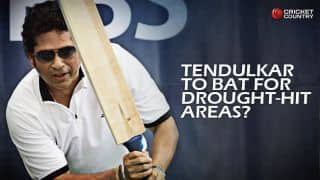 MCA may request Sachin Tendulkar to play exhibition match for Marathwada drought-hit areas