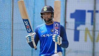 World Cup squad settled, but poor form may lead to omissions: Rohit Sharma