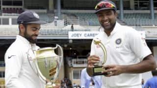 Kohli credits Ashwin, Saha for series win vs West Indies