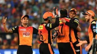 SRH bowlers defend low total again, this time against RR