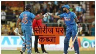 रोहित-कोहली की दमदार बल्लेबाजी के दम पर भारत ने 2-1 से जीती सीरीज