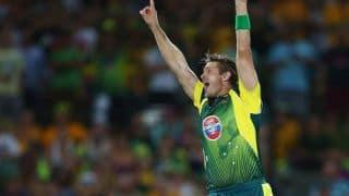 Australian players react to beating England 4-1
