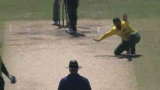 Is this appeal by Tabraiz Shamsi longest in cricket?
