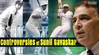 13 controversies Sunil Gavaskar was involved in