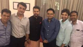 Sourav Ganguly shared picture with his new BCCI Team