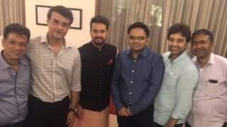 सौरव गांगुली ने बीसीसीआई में अपनी नई टीम के साथ साझा की फोटो, कहा...
