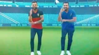watch video rohit sharma and virat kohli dance together in new theme song of ipl