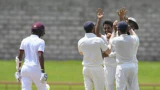 Day 5, Lunch report: India 7 wickets away from a memorable series win against West Indies