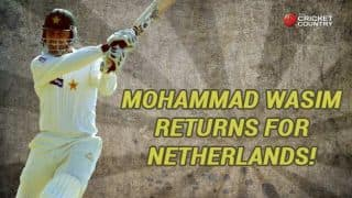 Mohammad Wasim: New chapter for former Pakistan batsman in Netherlands' colours