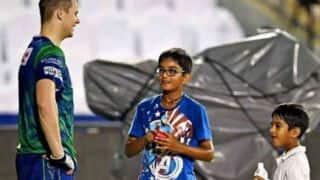 Rahul Dravid's son Samit hits match-winning knock in Gopalan Cricket Challenge Cup Under-12 match